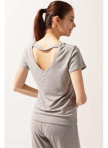 Katia & Bony Silver Line Medly Kadın Tshirt- Gri Gri